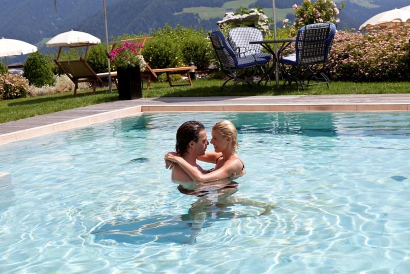 Alpin Panorama Hotel Hubertus ****s  Outdoor panoramic pool