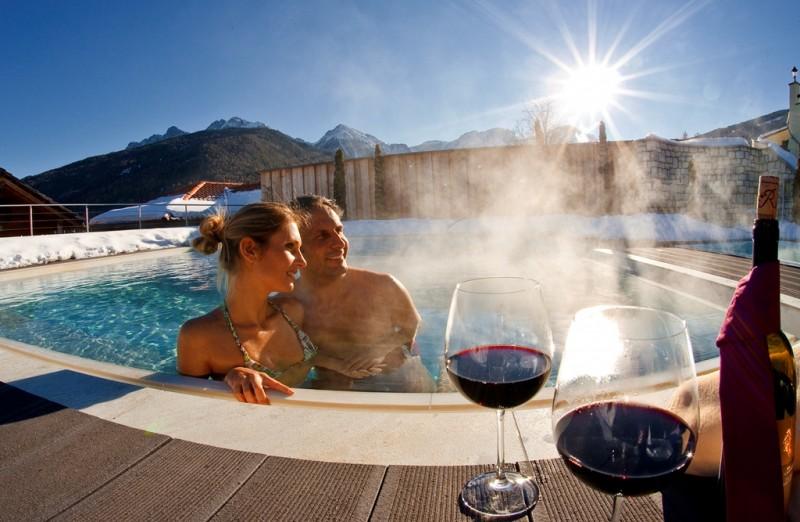 Alpin Panorama Hotel Hubertus ****s Anche in inverno 4 piscine riscaldate all'esterno