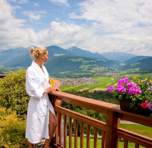 Alpin Panorama Hotel Hubertus ****s Un panorama stupendo