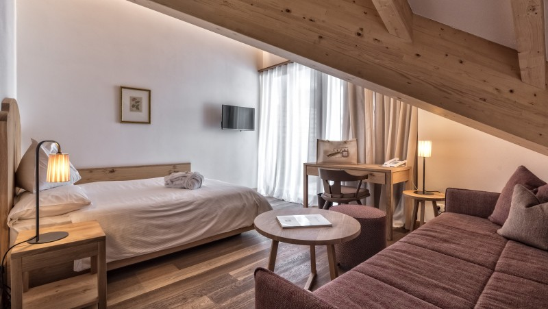 Sporthotel Tyrol Dolomites Einzel Comfortzimmer