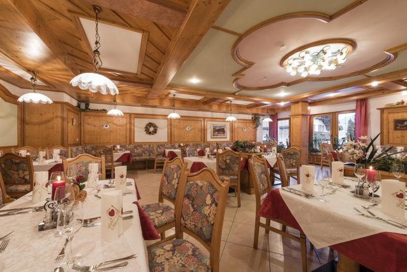 Hotel Senoner *** Sala da pranzo