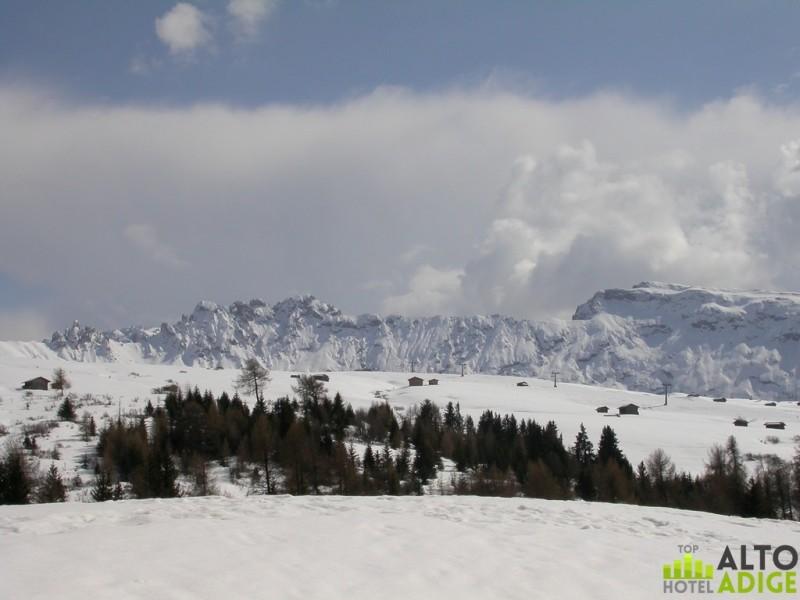 Ski auf der Seiser Alm
