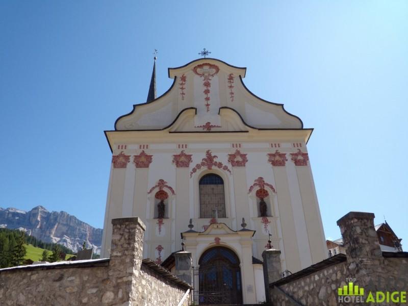 The Church of San Leonardo in Alta Badia