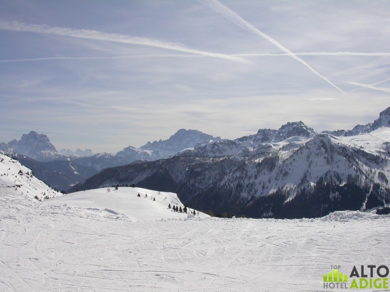 Beautiful views from the slopes of Alta Badia