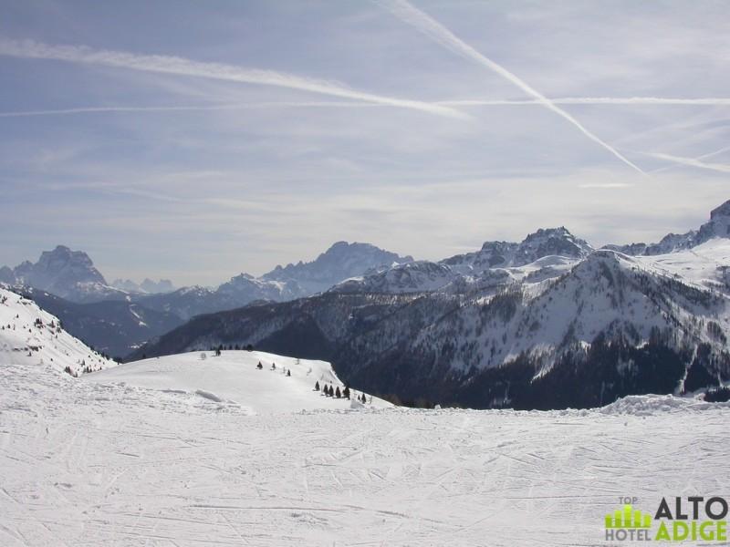 Beautiful views from the slopes of Alta Badia