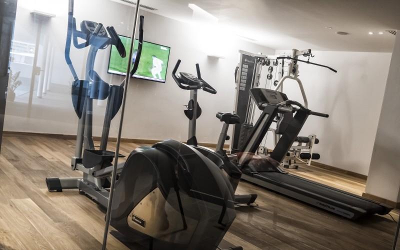 Sporthotel Tyrol Dolomites Fitnessraum
