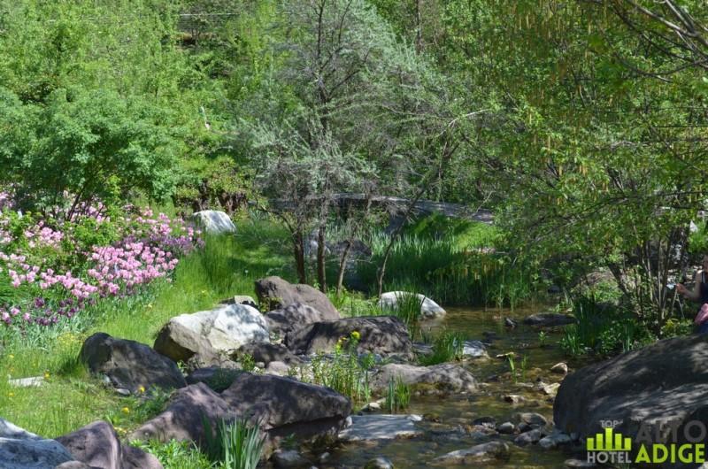 The beautiful gardens of Merano