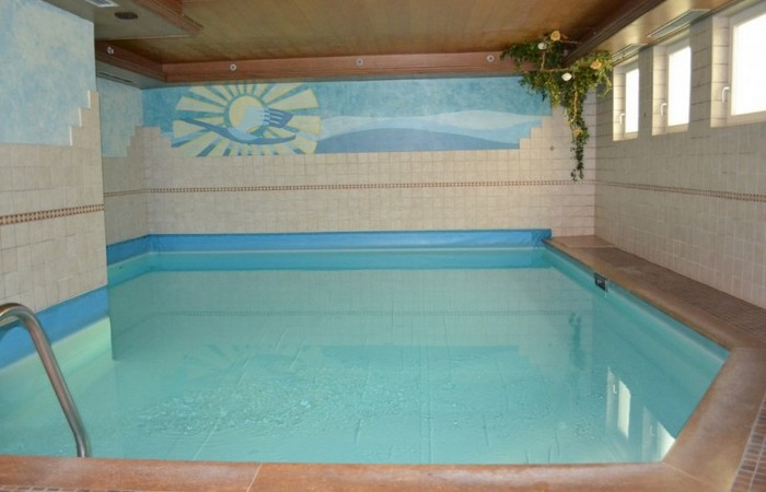 Hotel Alpenblick piscina