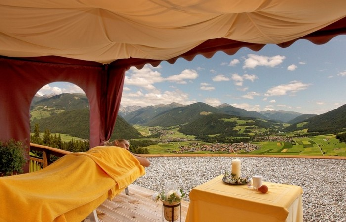 Alpin Panorama Hotel Hubertus ****s  SPA-terrace