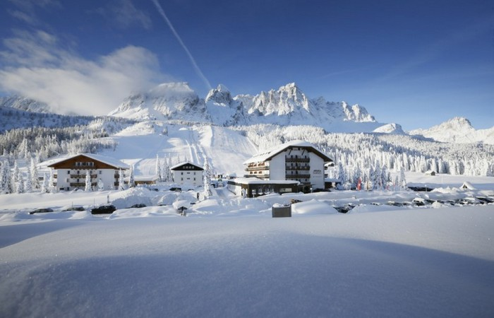 Hotel Passo Monte Croce **** Inverno albergo