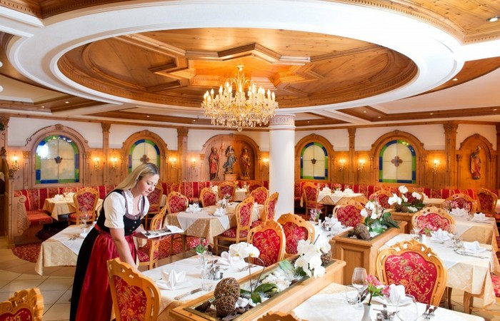Hotel Ansitz Jakoberhof **** Sala ristorante