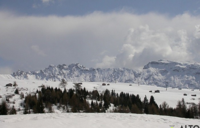 Galleria Fotografica Alto Adige Piste da sci all'Alpe di Siusi