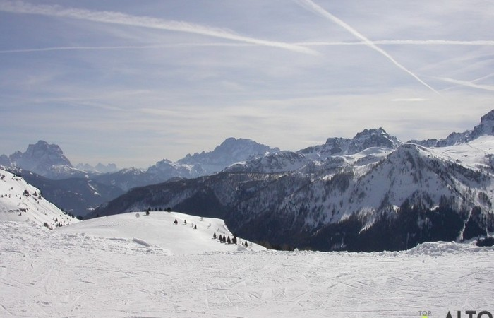 Galleria Fotografica Alto Adige Panorami dalle piste da sci dell'Alta Badia