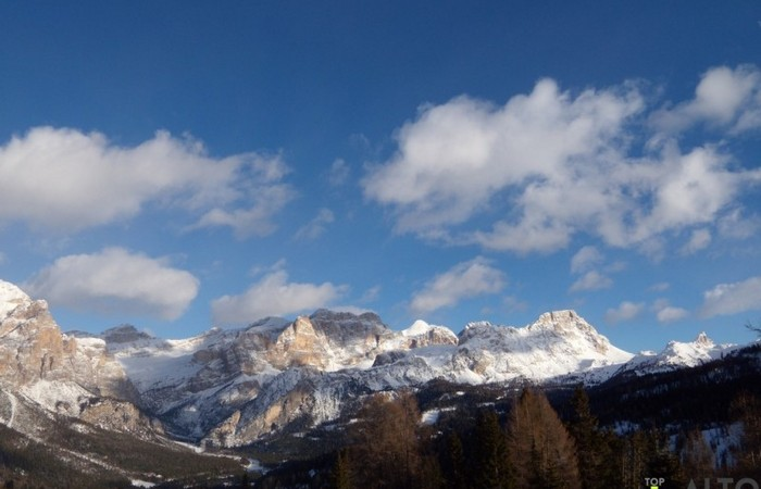 Photo Gallery South Tyrol Alta Badia Dolomites in winter