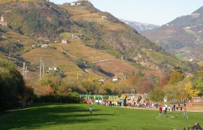 Fotogalerie Südtirol Einblick in die wunderbare Spaziergänge am Talfer in Bozen