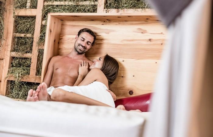 Hotel Zum Engel **** Sala di riposo con fieno