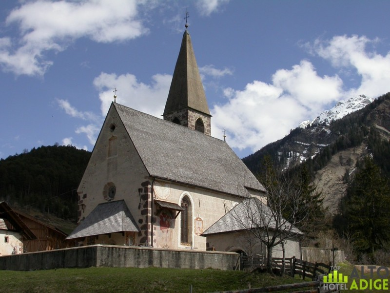 the church of Santa Maddalena, symbol of Funes Valley
